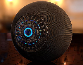 3D model Cyber Eye Implant