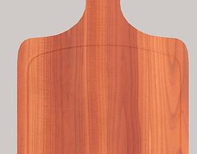 3D asset Wooden chopping board