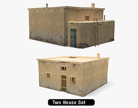 Afghanistan House Pack 3D asset