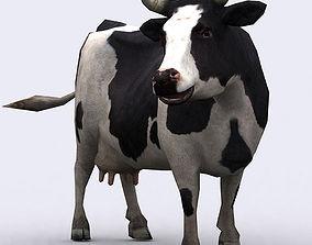animated 3DRT - Cow