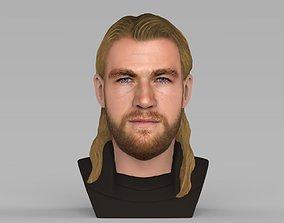 Thor Chris Hemsworth Avengers bust full color 3D 1