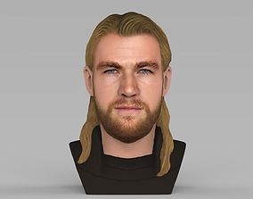 Thor Chris Hemsworth Avengers bust full color 3D 1