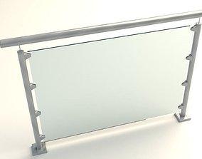3D print model handrails