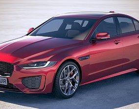 Jaguar XE R-Dynamic 2020 3D