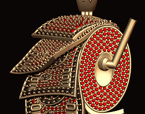 3D printable model Dollar Diamond Roll Pendant