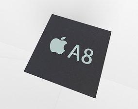 3D model Apple CPU A8