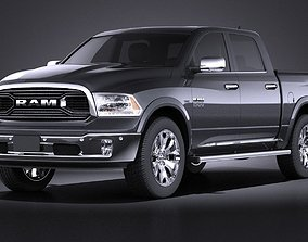 3D model Dodge RAM 1500 Laramie Limited 2015 VRAY