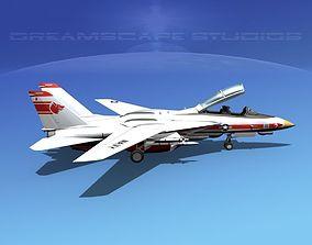 Grumman F-14D Tomcat T03a VF1 3D