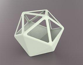 Icosahedron Terrarium 3D printable model