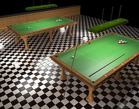 3D printable model Miniature Pool Table