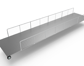 3D model Loading ramp ship