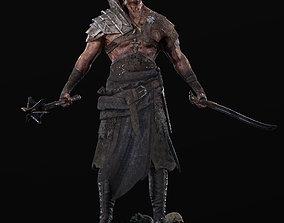 3D asset Exotic Warrior Mercenary