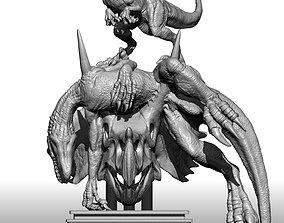 3D print model Jurassic World 2 Indoraptor VS