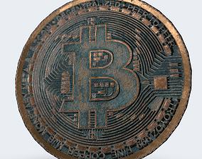 Bitcoin rust 3D model