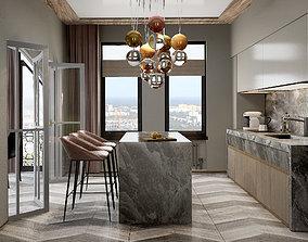 3D model realtime Kitchen