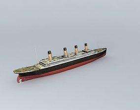 3D model TITANIC Dummy 1912