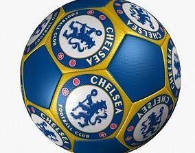SOCCER BALL CHELSEA FC 3D model