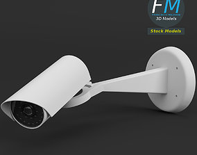 3D model Surveillance camera 1