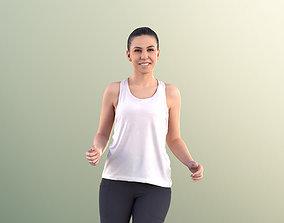 3D asset Estelle 11077 - Athletic Woman Running