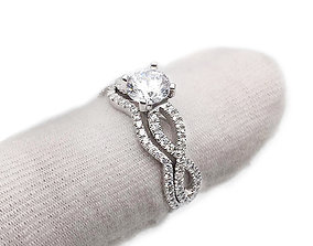 3DM White gold ring 3DM jewelry design