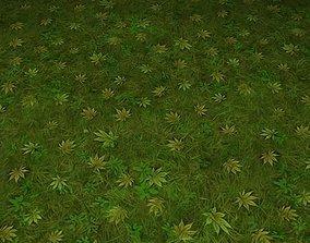 3D ground grass tile 20