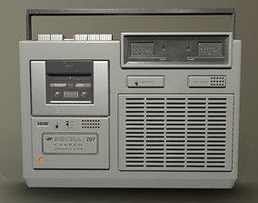 3D asset Old Soviet Player Vesna-207