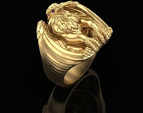 3D print model Griffin Ring