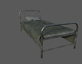 Military Bed 01 3D model