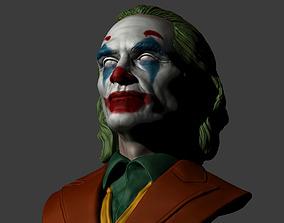 3D printable model Joker - Joaquin Phoenix Bust