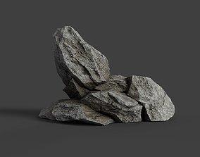 3D asset Rock 6-4