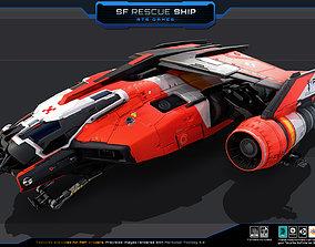 SF Rescue Ship 3D model