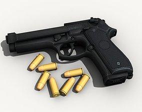 Beretta Pistol 3D
