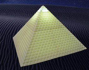 3D printable model Great Pyramid of Giza