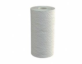 3D Paper towel single