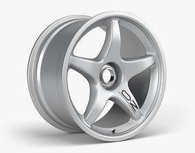 3D asset OZ Racing Wheel