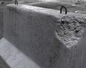 Roadblock Barrier 3D model