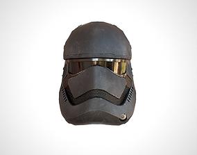 Star Wars Stormtrooper Helmet - Dark 3D asset
