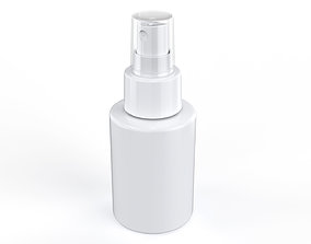 Cosmetic Container 01 Small Size 3D model