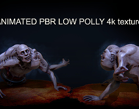 DUO HORROR PBR ANIMATED 3D asset