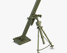 3D Mortar 82mm military
