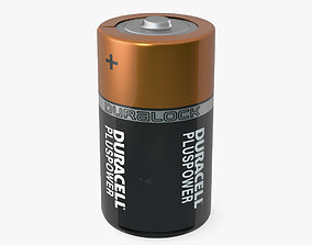 3D Duracell D Battery