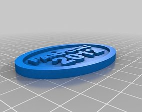 3D printable model Farpoint keychain