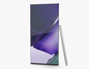 3D model Samsung Galaxy Note20 Ultra Mystic White