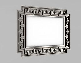 Frame for the mirror 3D print model baguette