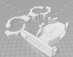 3D print model POWER RANGERS SPD DEKARANGER CONTAINMENT 2