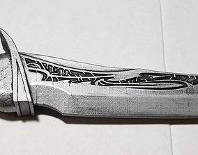 Guardians of the Galaxy Drax Blade 3D print model 2