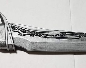 Guardians of the Galaxy Drax Blade 3D print model 2