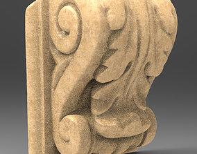 Architectural Decorative 4 3D model barroco