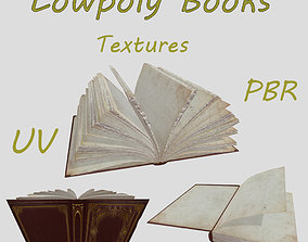 blank old book 3D model