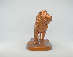 Lion Statue 3D printable model sculptures
